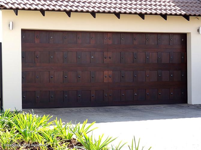 Studded Gargae Doors