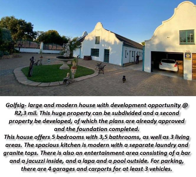 Golfsig- Large & Modern House