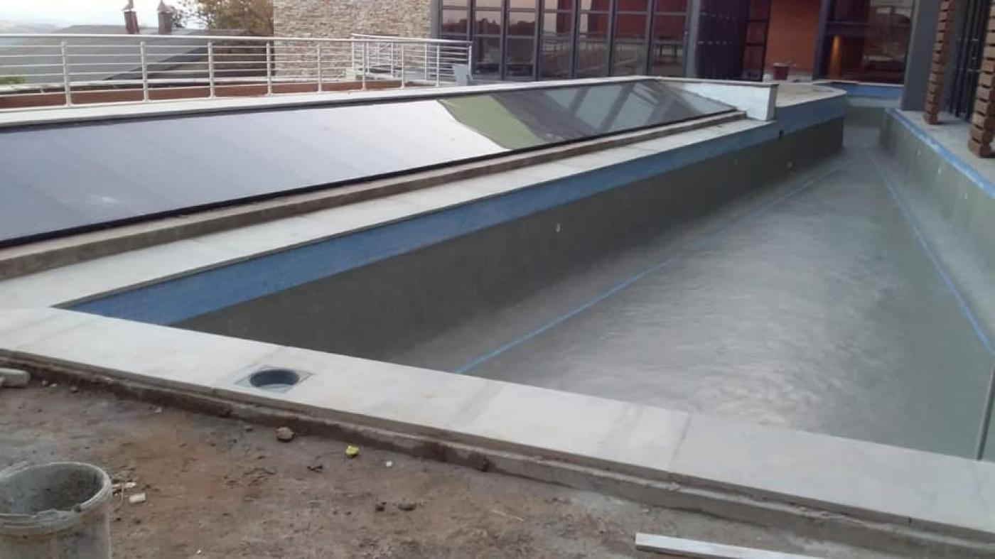 New pool @ Angelsview Hotel Graskop