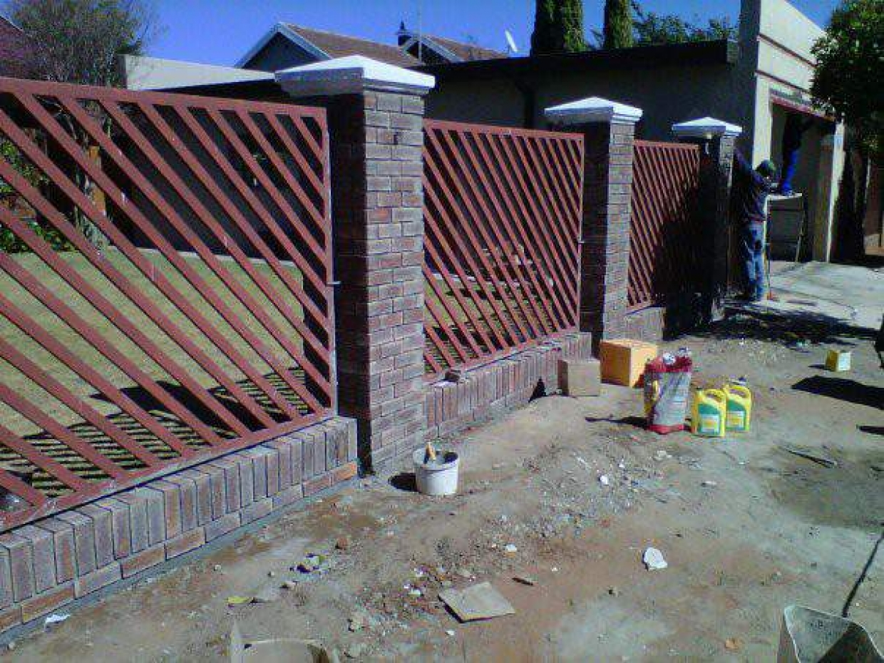 Boundary Wall After