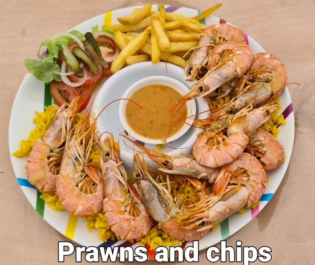 Prawns & Chips