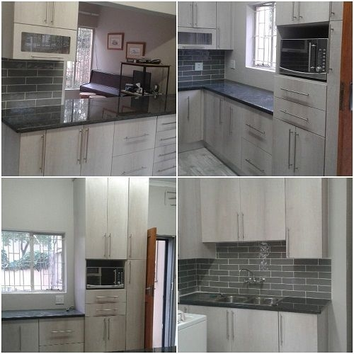 Impact Kitchen Lunar Ash and Rustenburg counters Carrina
