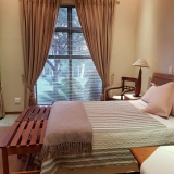 Room 1 -1 Double bed. Bathroom (shower and bath)